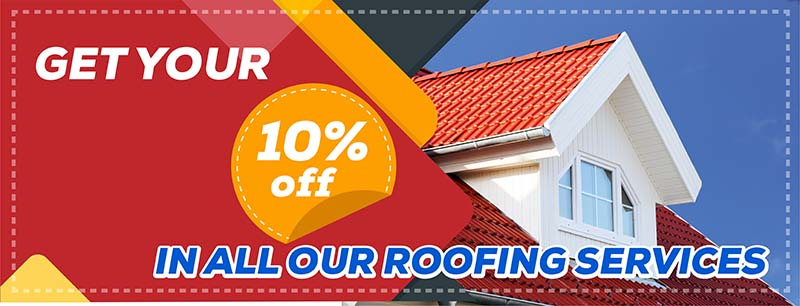 100% off in all roofing services in tyler tx