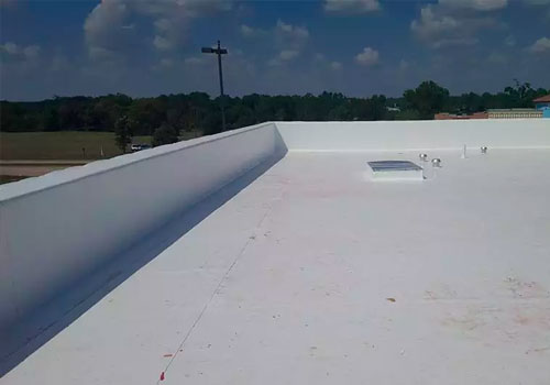 Built-Up Flat Roofs
