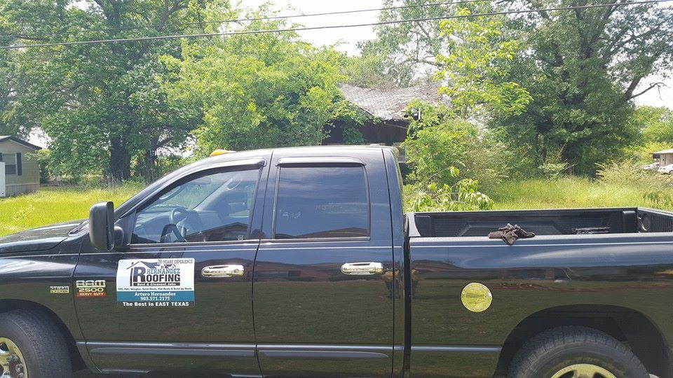 Hernandez Roofing Truck