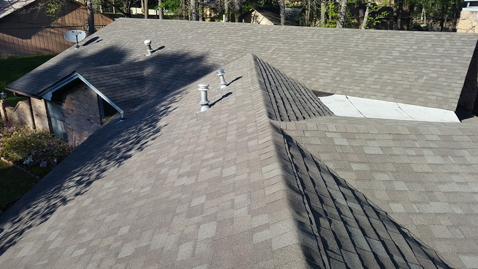 Residential Shingle Roof Installation